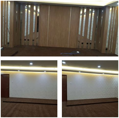 Contoh 2 : Pasang karpet korporat - di PWTC, Kuala Lumpur.