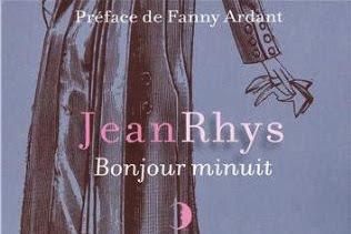 Lundi Librairie : Bonjour Minuit - Jean Rhys