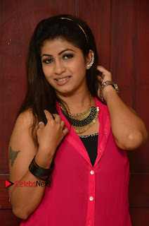 Actress Geethanjali Pictures in Pink Dress at Avanthika Movie Opening 0009