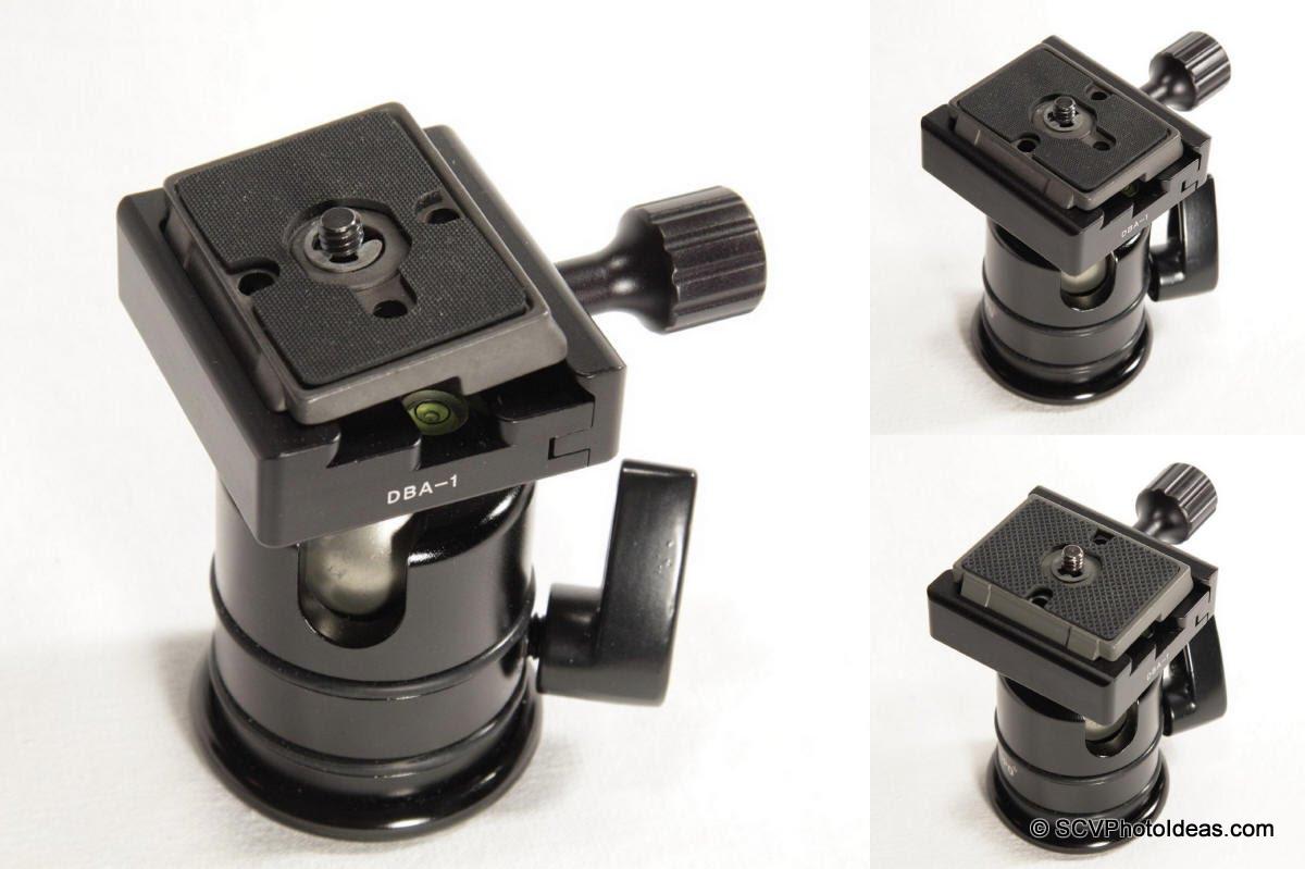 Manfrotto 200PL-14 implementation on Desmond DBA-1 QR clamp