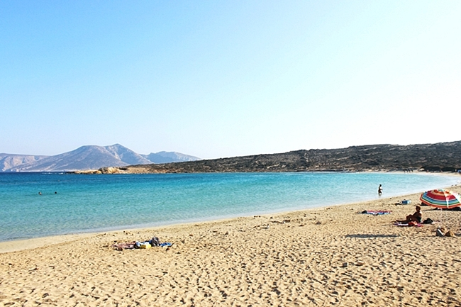 Pori beach, most beautiful Koufonisia island beaches to visit