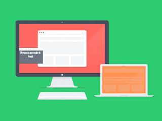 Cara Membuat Slide Box Rekomendasi Di Blog