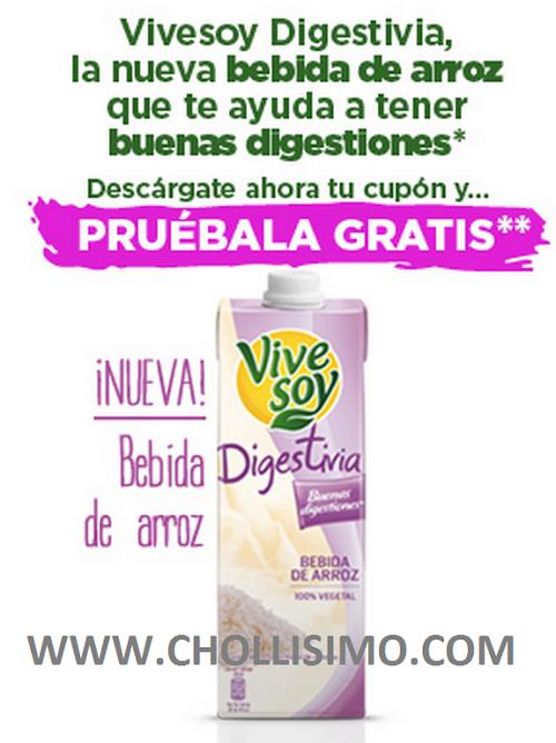 GRATIS ViveSoy Digestiva, Promoción Vive soy digestiva, Vive soy digestiva GRATIS