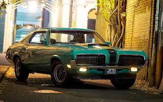 1970 Mercury Cougar Eliminator 428 Cobra Jet Green Picture