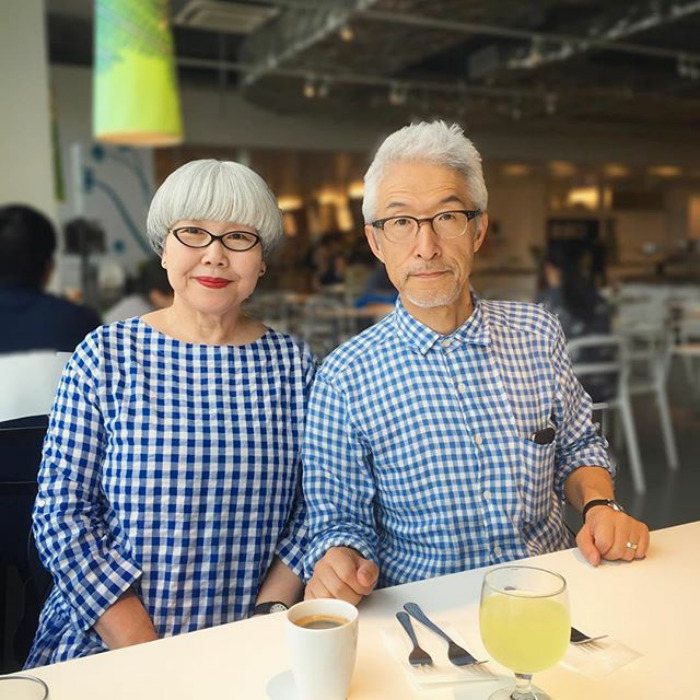 #4 - This Couple Married For 37 Years Always Dress In Matching Outfits