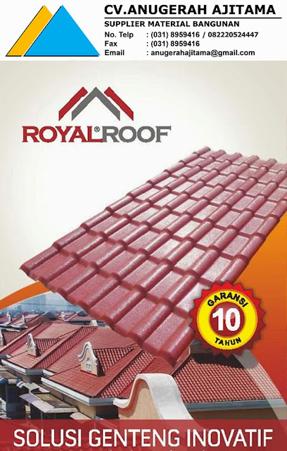 JUAL ATAP UPVC ROYALROOF