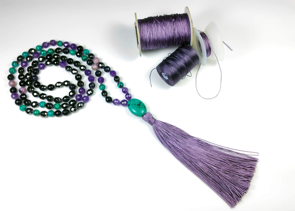 marion jewels in fiber news and such diy silk tassels for jewelry. Black Bedroom Furniture Sets. Home Design Ideas