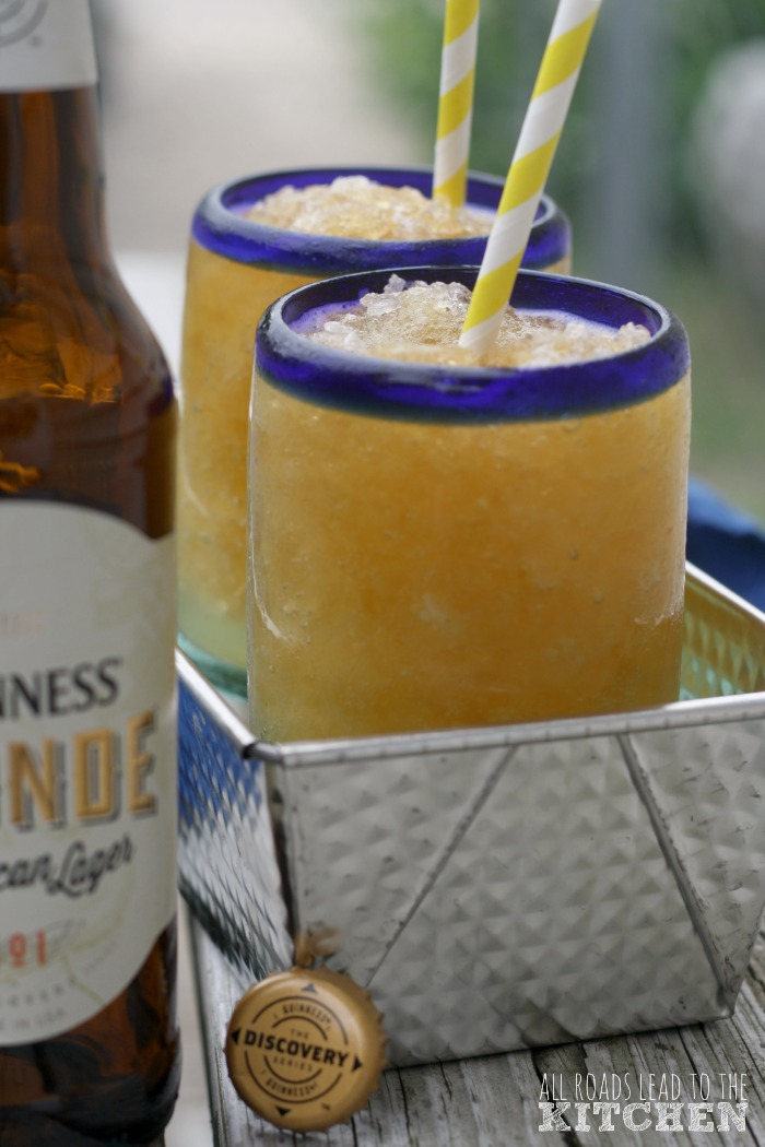 Simple Beer Shandy Slushies | #GuinnessBBQChallenge