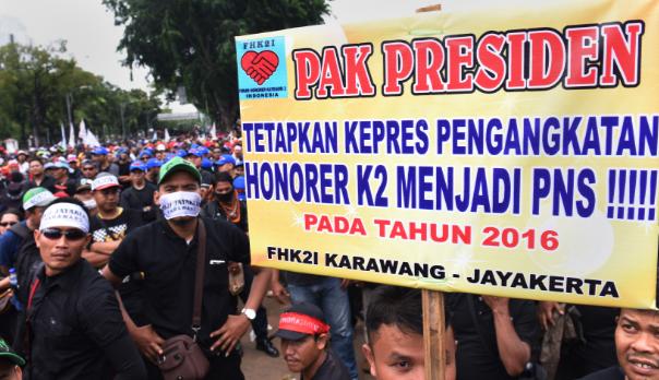 Pengangkatan Guru Honorer K2 Dengan Perpres Tanpa Ada Revisi Sedangkan Untuk Umur 35 Tahun Menjadi PPPK , SELAMAT!!