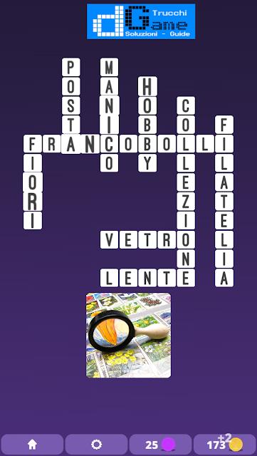 Soluzioni One Clue Crossword livello 10 schemi 7 (Cruciverba illustrato)  | Parole e foto