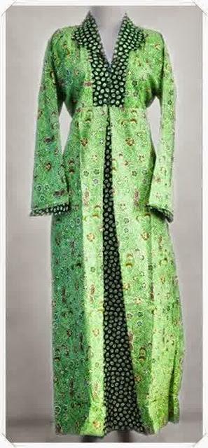Model Baju Batik Kebaya Muslim Gamis Modern