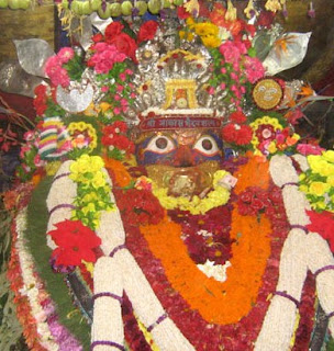 Image of Akash Bhairav during Indra Jatra Festival