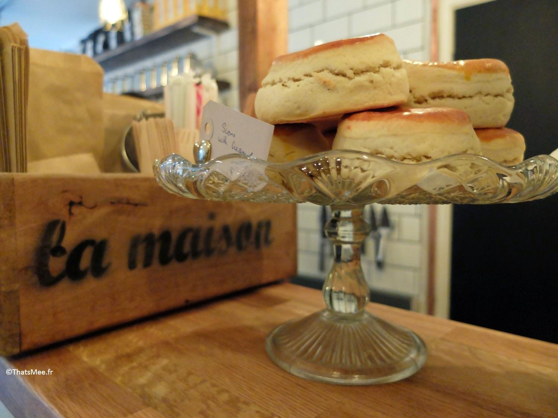cake fait maison Maison d'Etre coffee shop Islingthon & Highbury hipster must place-to-be Kim