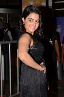 Wamiqa Gabbi in a sleeveless Black Designer Transparent Gown at 64th Jio Filmfare Awards South ~  Exclusive 011.JPG