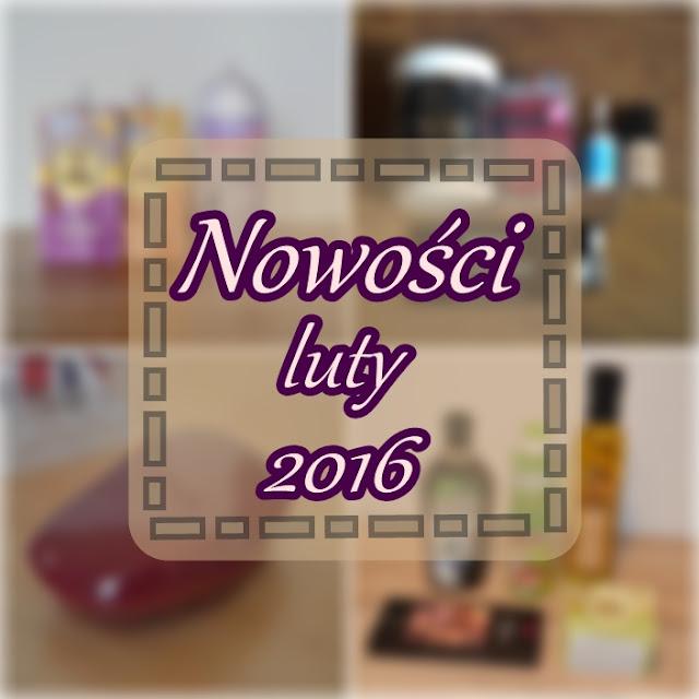 Nowości luty 2016