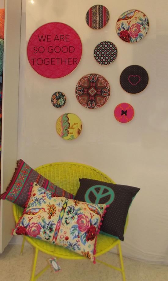 quadrinhos, dona emma, a casa eh sua, craft design, decoração, decor, almofadas, quadrinho bastidor, bastidor