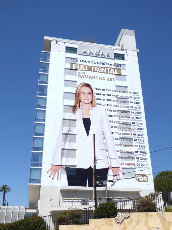 Samantha Bee 2017 Emmy fyc billboard