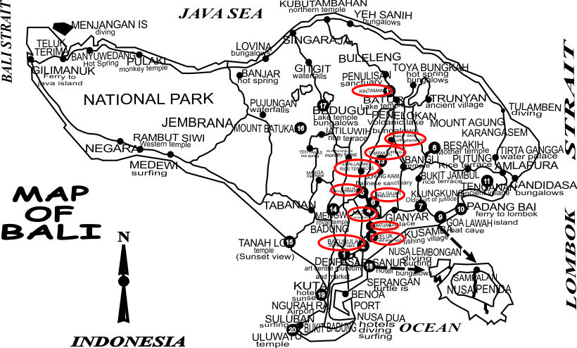 Jadwal Perjalanan Wisata Kintamani