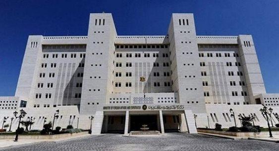 الخارجية سورية مصممة على الدفاع عن شعبها وحرمة أراضيها