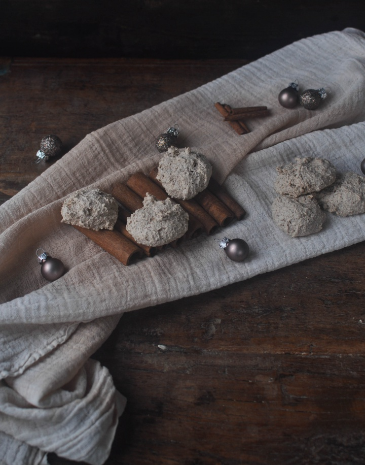 the taste of Christmas: Cinnamon-Almond-Cookies, easy to make and gluten free