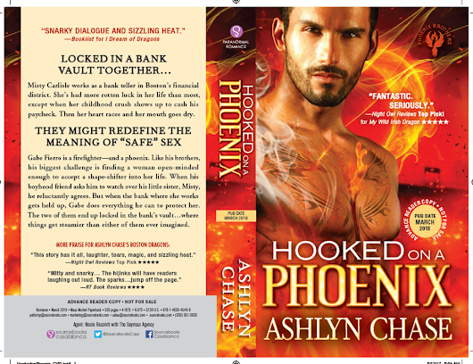 March News. It's here! Book 1 of the new Phoenix Brothers series!