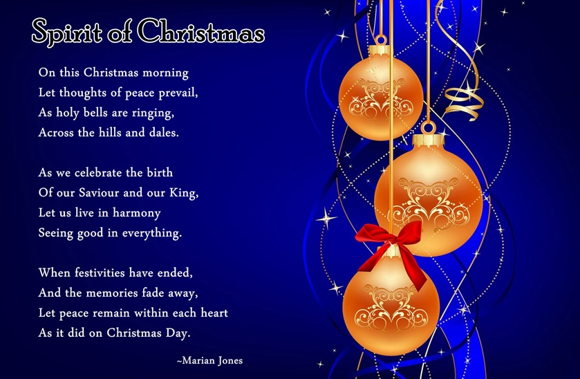 Religious Christmas Poems 5