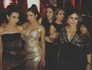 Bollywood divas spread the glamour in the party