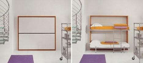 Decora tu vida diy camas ocultas y de doble uso for Camas ocultas en muebles