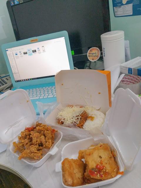 Promo Grab Food Geprek Bensu Cempaka Putih Jakarta