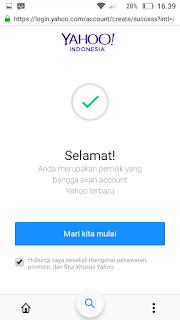 Cara membuat akun email yahoo lewat hp android 2018