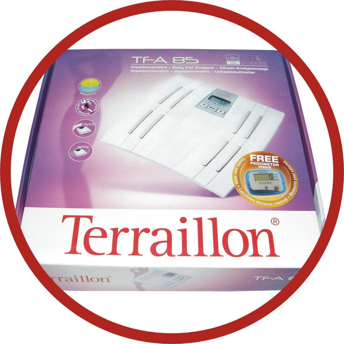 Terraillon Tfa 85 Electronic Bathroom Scale Body Fat Yzer Now At Rm212 00 Only