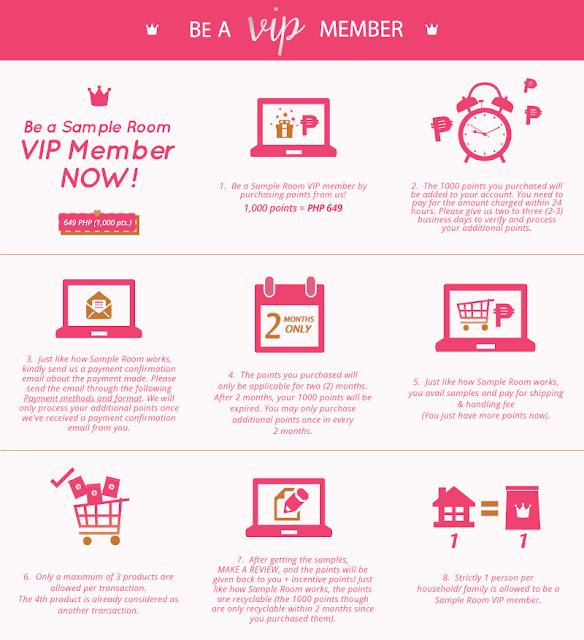 Sampleroom.ph VIP Membership