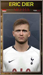 PES 2017 Faces Eric Dier by Mo Ha