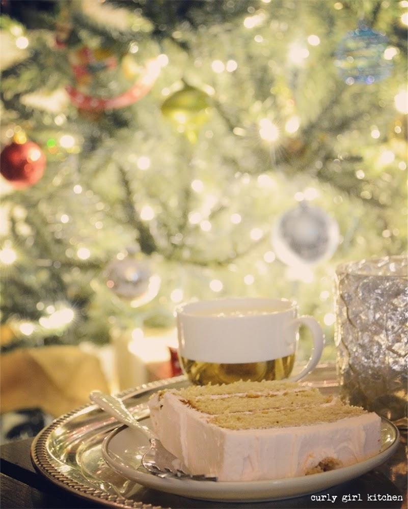 Cake and Eggnog for Santa