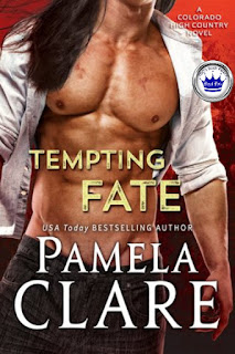 romance novel covers, contemporary romance, Royal Pick, Tempting Fate by Pamela Clare