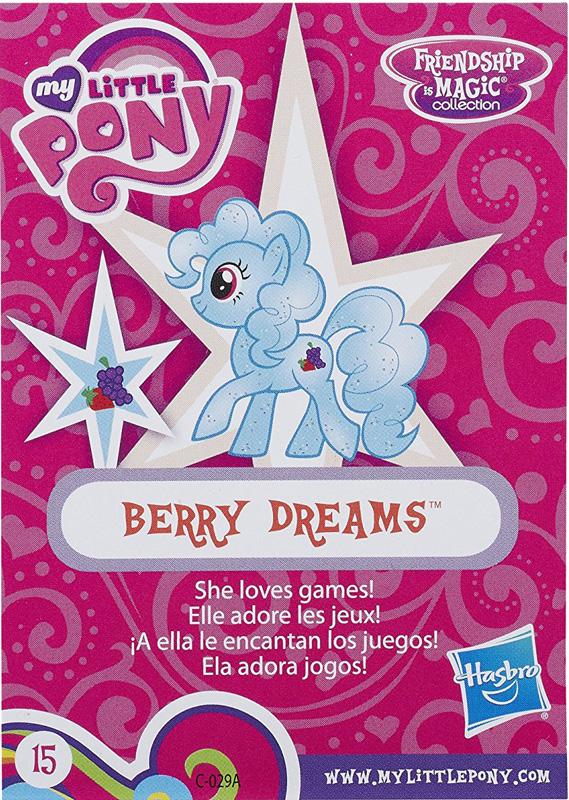 MLP Berry Dreams Blind Bag Cards MLP Merch