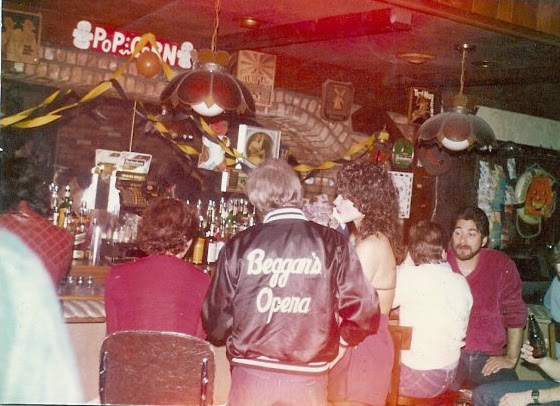 Inside Beggar's Opera rock club in Queens, New York