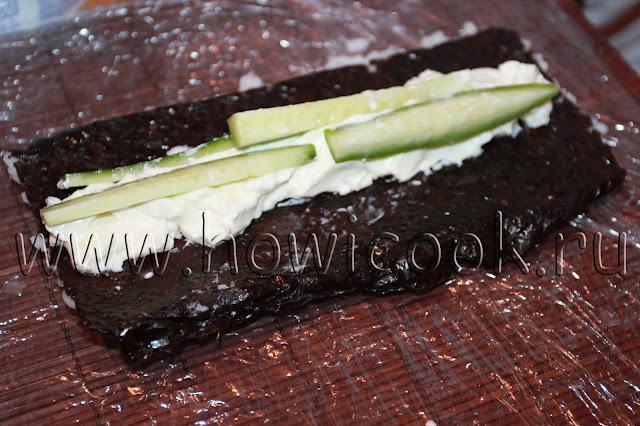 рецепт роллов филадельфия в домашних условиях с пошаговыми фото