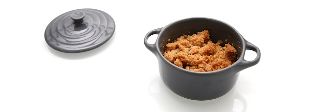 Crumble pommes cannelle