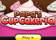 juegos de cocina papas cupcakeria