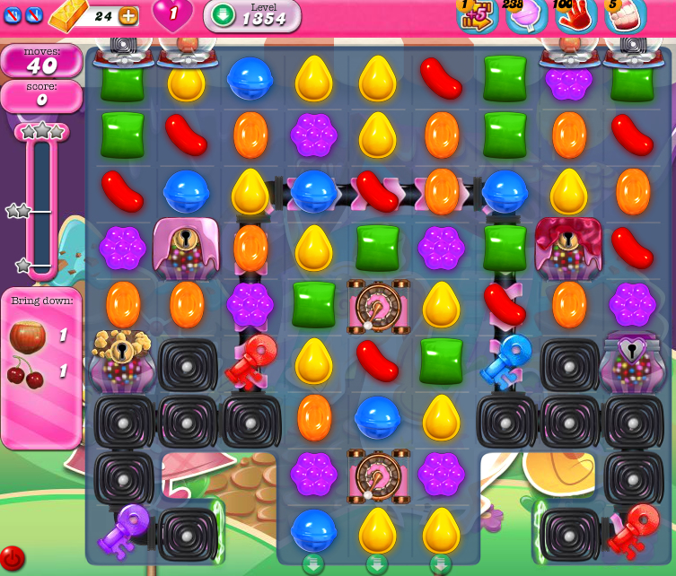 Candy Crush Saga 1354