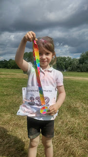 eldest with running medal