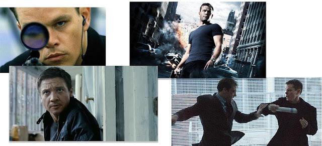 Imágenes de la saga de películas de Jason Bourne