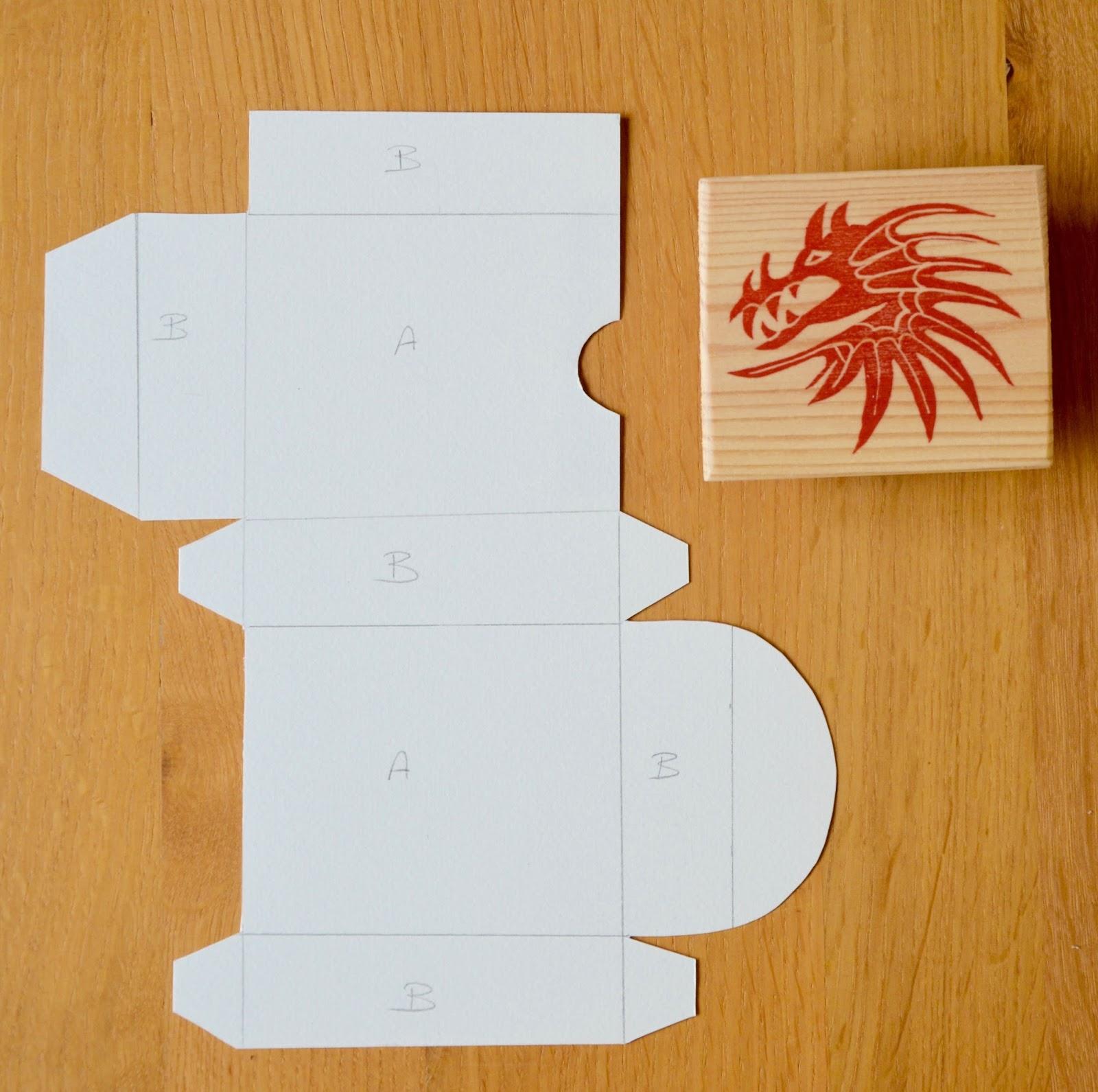 La petite verri re les petites boites en carton tuto - Tuto boite en carton ...
