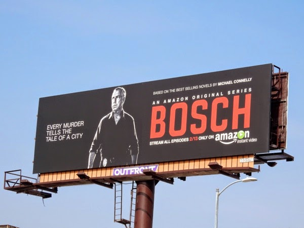 Bosch series premiere Amazon billboard