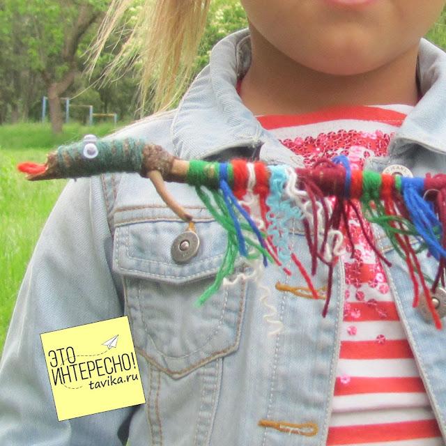 Детские поделки из палочек и веток своими руками