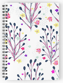 ruled note book spiral bound