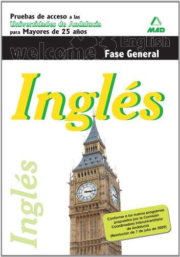 Inglés – Pruebas de acceso a la universidad para mayores de 25 años