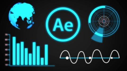 After Effects CC : Design Animated Futuristic HUD Elements