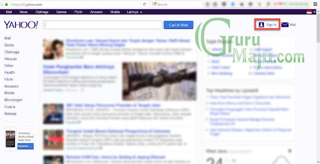 30 Detik Membuat Email Baru di Yahoo.com